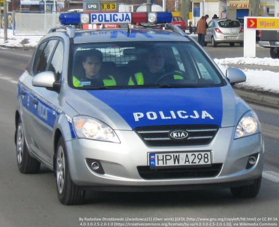 Policja Grudziądz: Młodzież z wizytą u policjantów