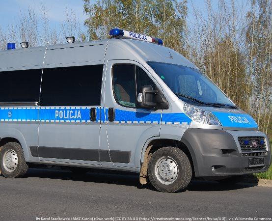 Policja Grudziądz: Policjanci odebrali prawo jazdy motocykliście, który uderzył w słup z latarnią oświetleniową